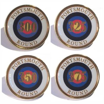 Portsmouth Round premium badge